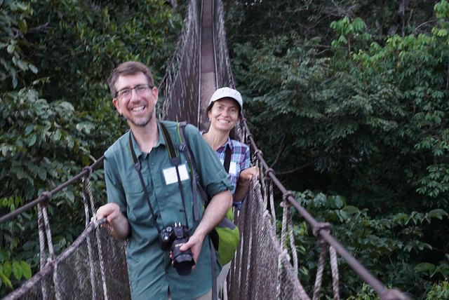 Morpho Institute ACTS canopy walkway